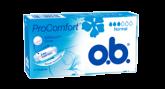 Bilde av en pakke av o.b.® ProComfort Normal tampong