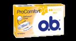 Bilde av en pakke av o.b.® ProComfort Mini tampong